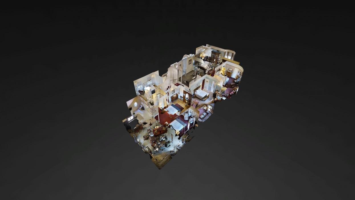 Cedar Gables Inn Dollhouse - Cedar Gables Inn Dollhouse 1
