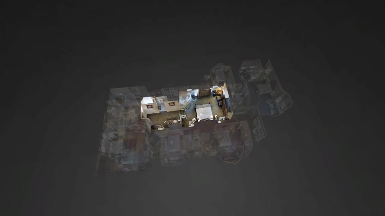 Cedar Gables Inn Dollhouse - Cedar Gables Inn Dollhouse Floor 4