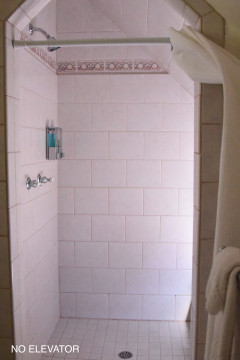 Private full bathroom with walk in shower