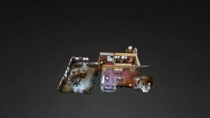 Cedar Gables Inn Dollhouse - Cedar Gables Inn Dollhouse Floor 1
