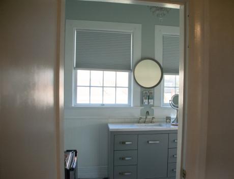 Bathroom Sink with Window
